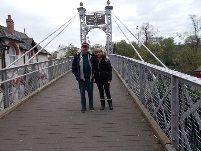 On Queen's Bridge.