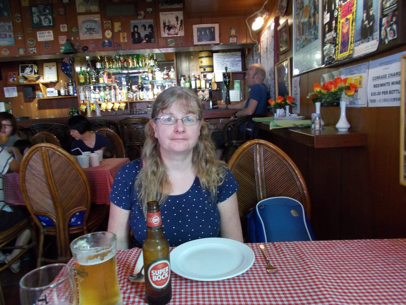 Me in Normans Bar, Hac Sa Park Restaurant.