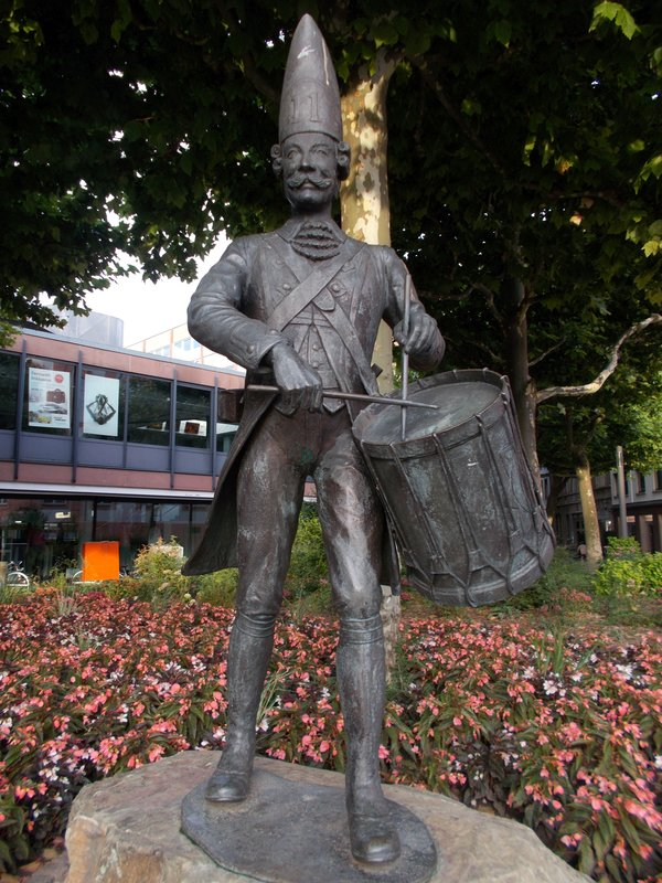 Guard Drummer Statue.