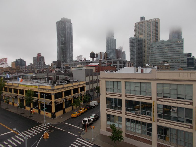 Rainy day in Queens.