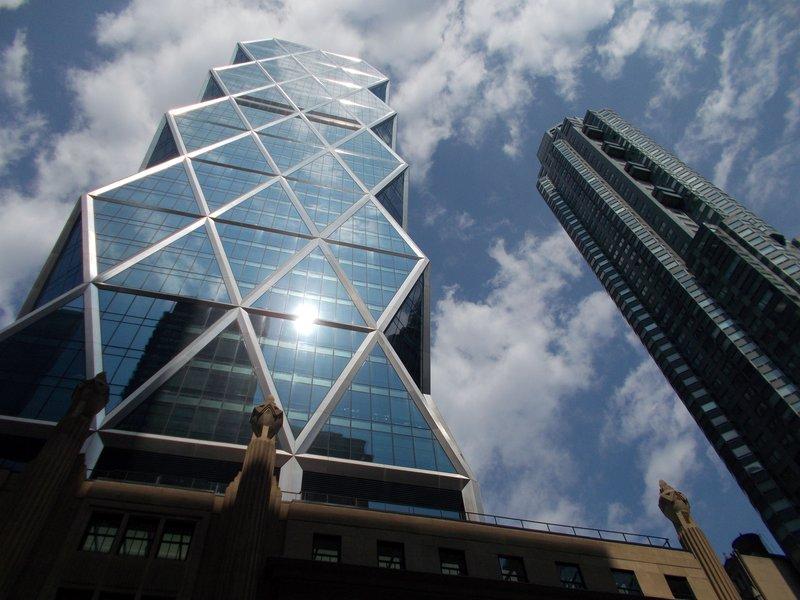 Tall buildings, Manhattan.