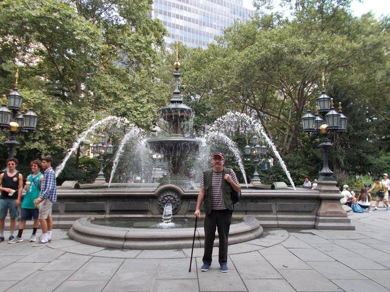New York City Hall Park.
