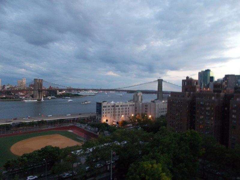 View from the Manhattan Bridge.