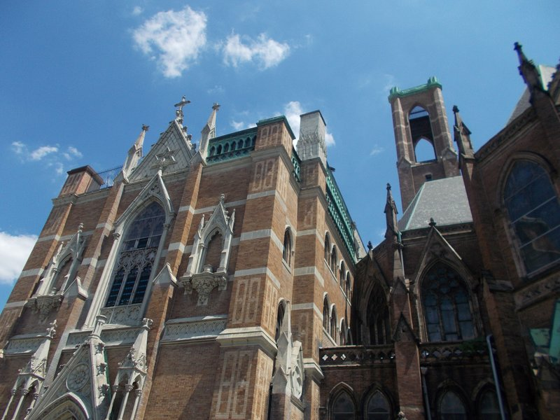 One of Harlem's many famous churches.