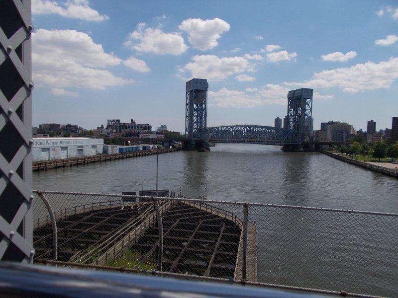 The Harlem River.