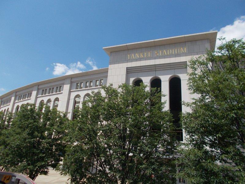The Yankee Stadium.
