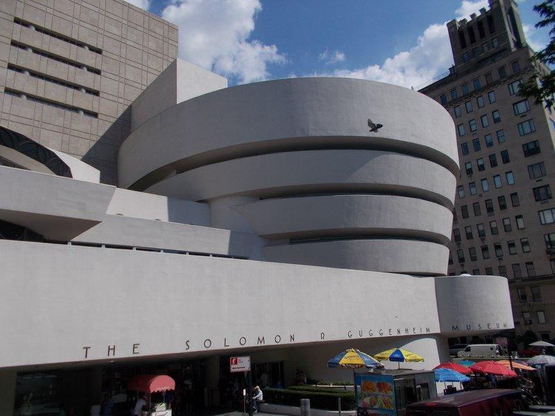 The Guggenheim Museum.
