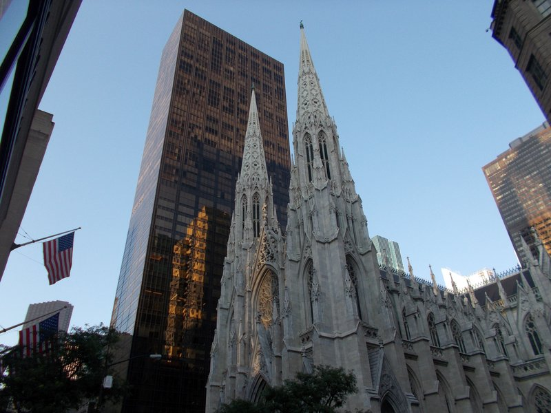 Saint Patrick's Cathedral.