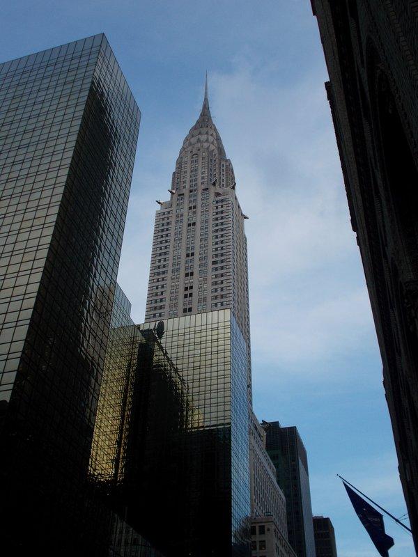 The Chrysler Building.