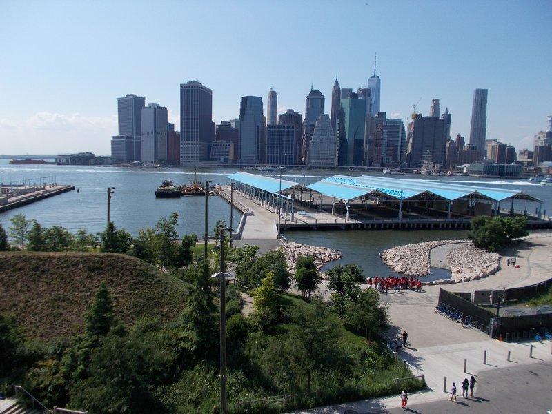 Manhattan from Brooklyn Heights Promenade.