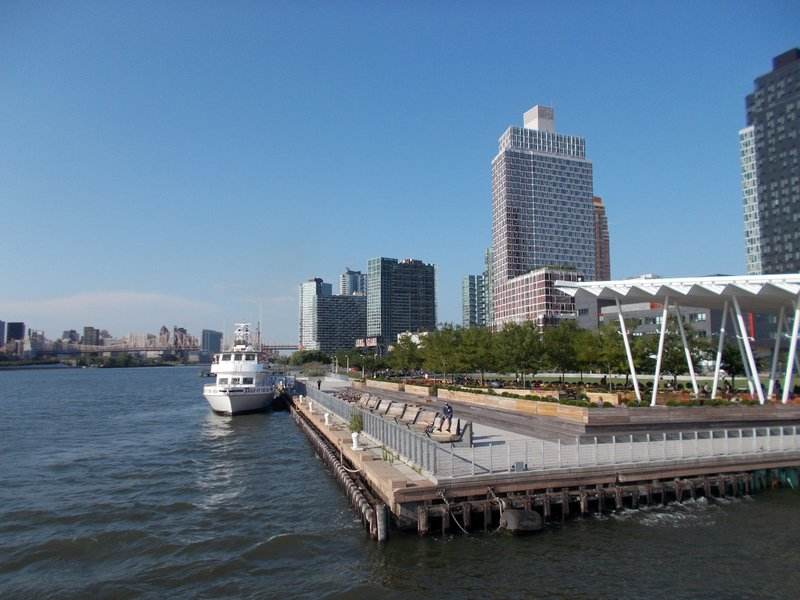 Long Island City from the ferry.