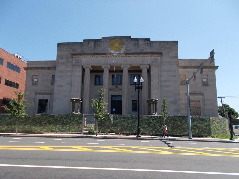 Quincy Masonic Temple.