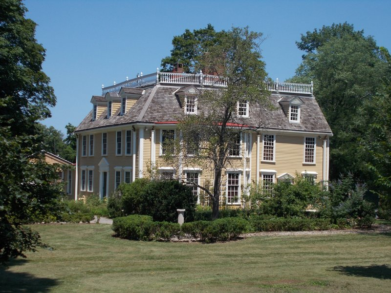 The Dorothy Quincy Homestead.