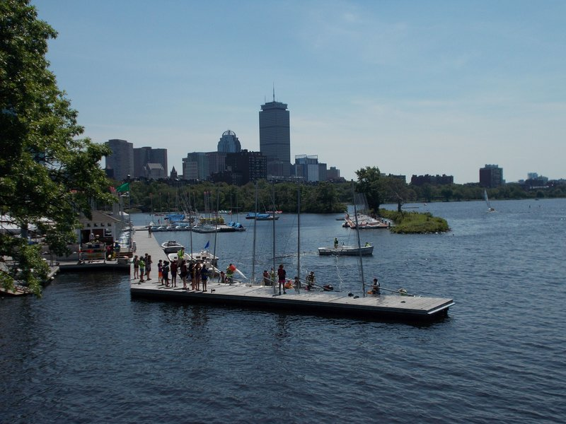 The Charles River.
