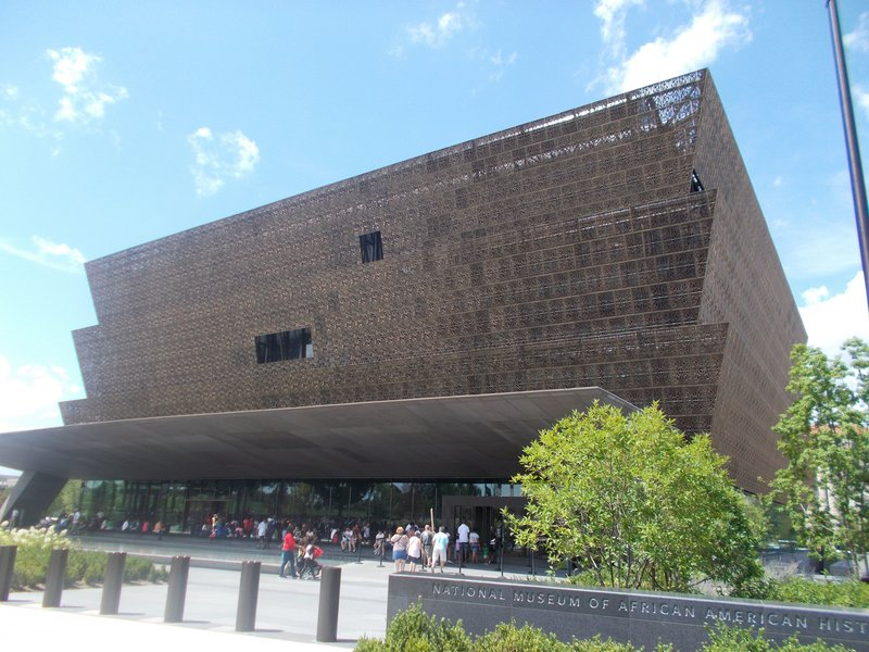 The National Museum of African American History and Culture.