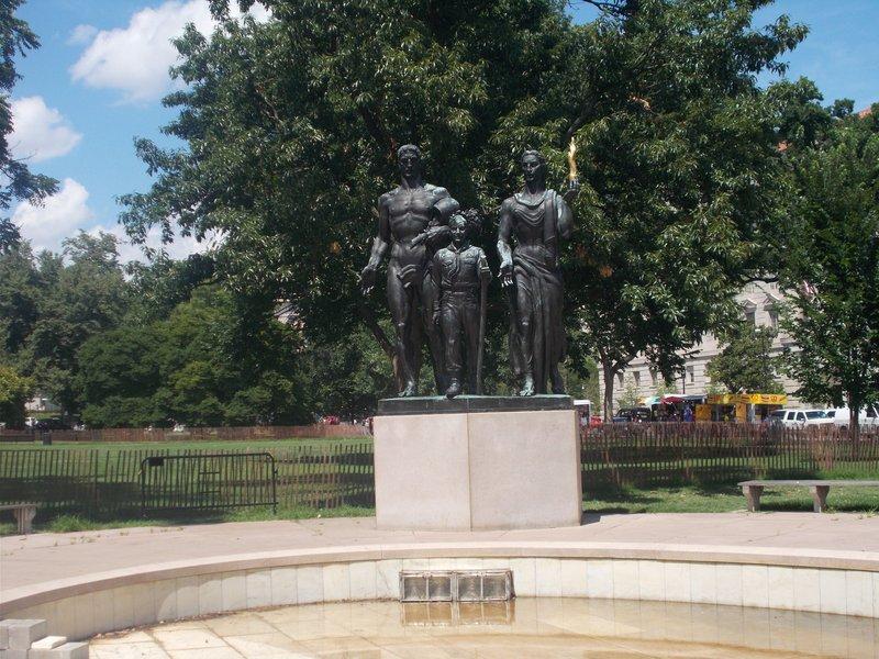 Boy Scout Memorial.