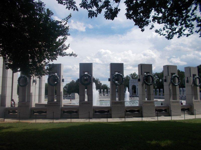 The World War II Memorial,