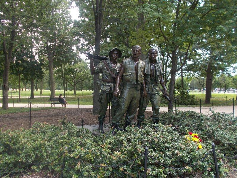 The Vietnam Veteran's Memorial.