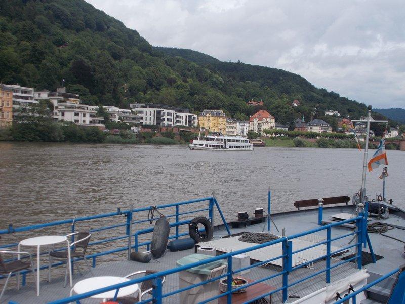 On the Neckar River.