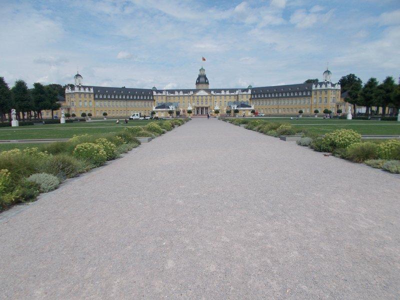 Karlsruhe Palace.