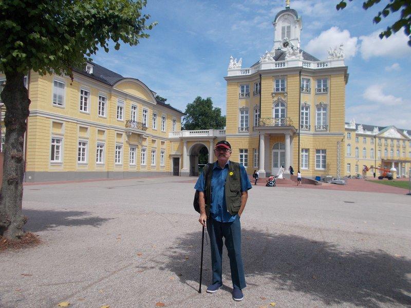 Peter at the palace.