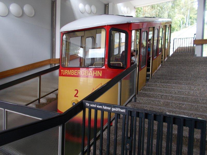 Turmberger Funicular.