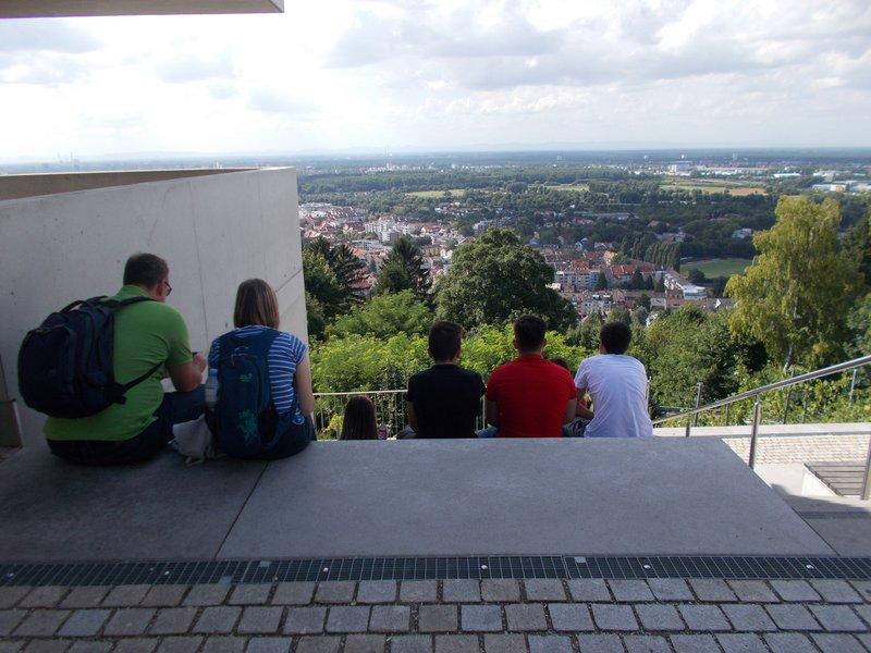 View from Turmberg.