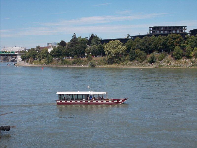 Ferry, Basel.