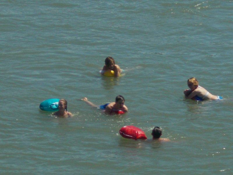 Rhine swimmers.
