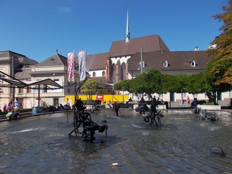 Tinguely Fountain.