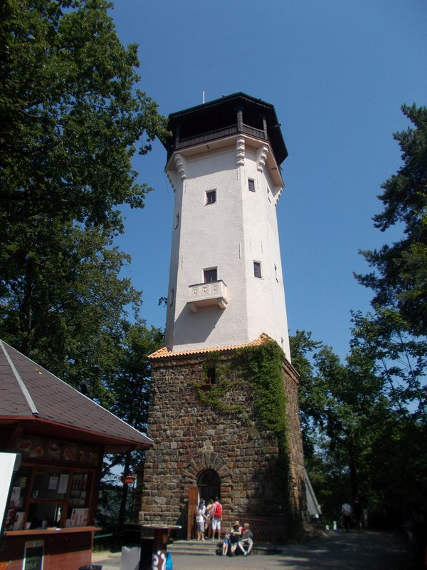The Diana Lookout Tower.