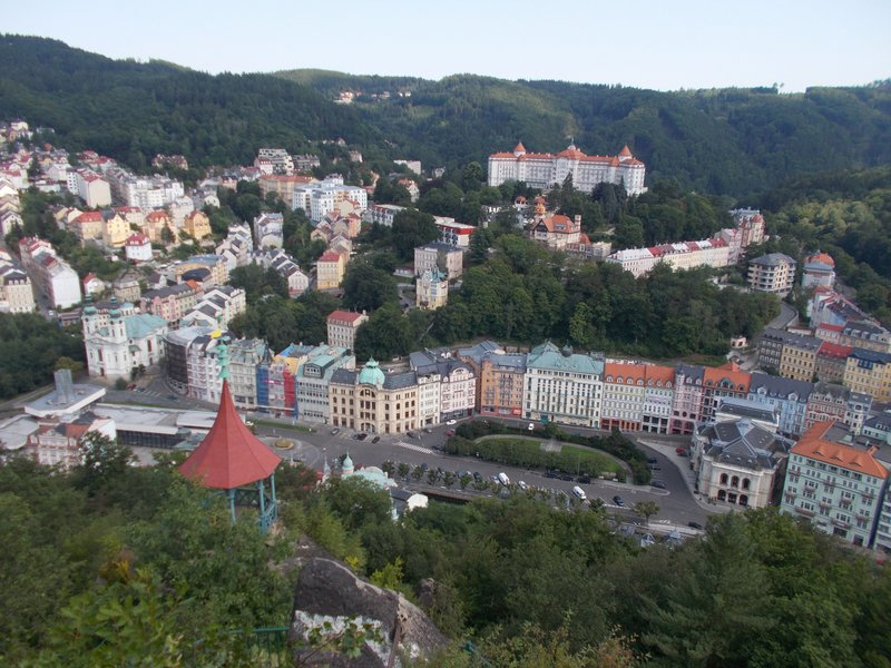 More views over Karlovy Vary.
