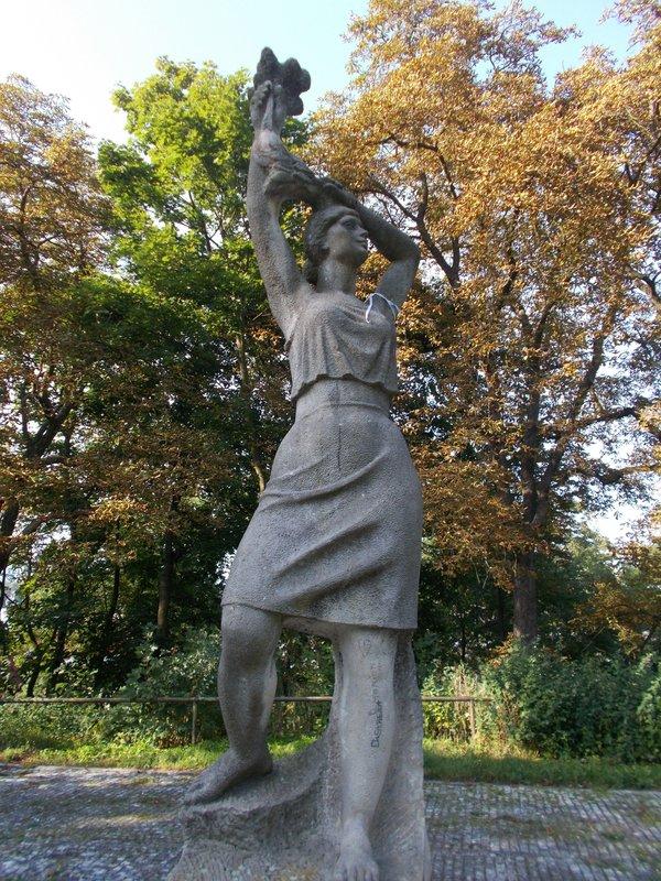 Monument to Anna Politkovskaya.