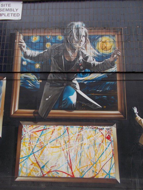 Glasgow mural.