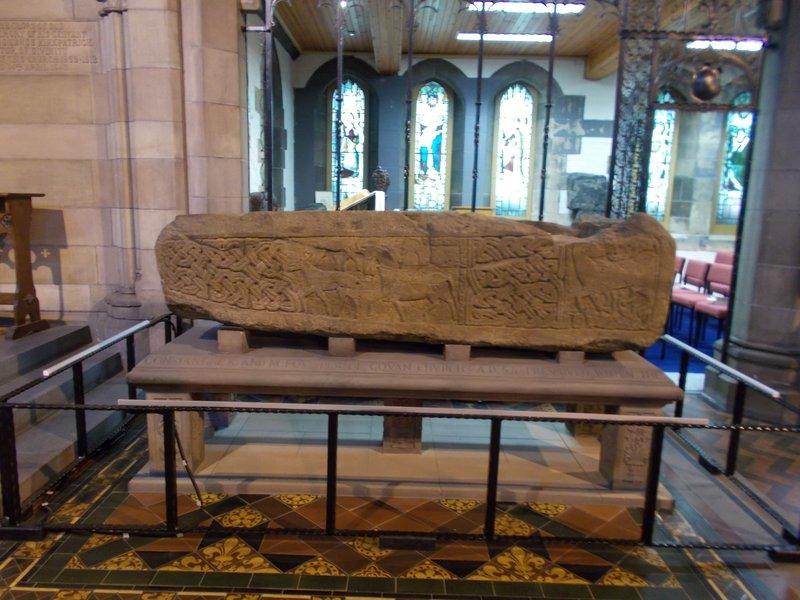 Stone Sarcophagus.