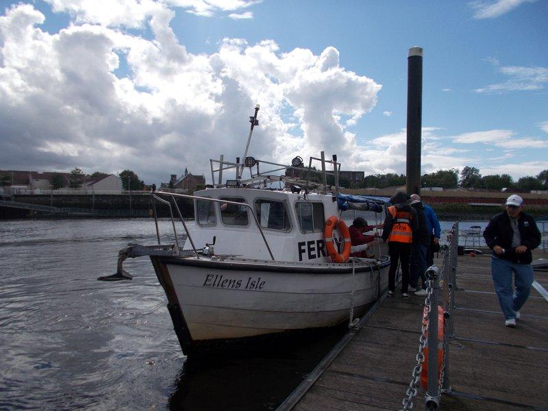Free ferry between Govan Stones and Riverside.