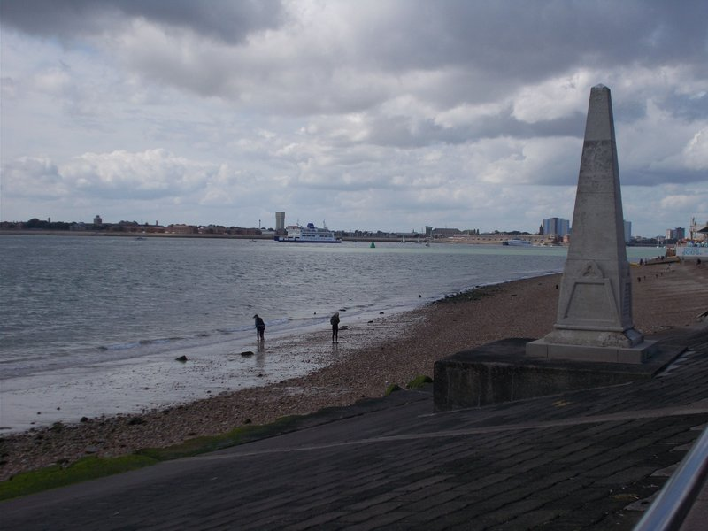 My walk along the seafront.