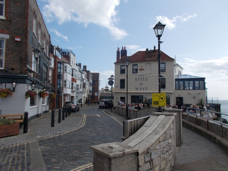 Portsmouth's old town.