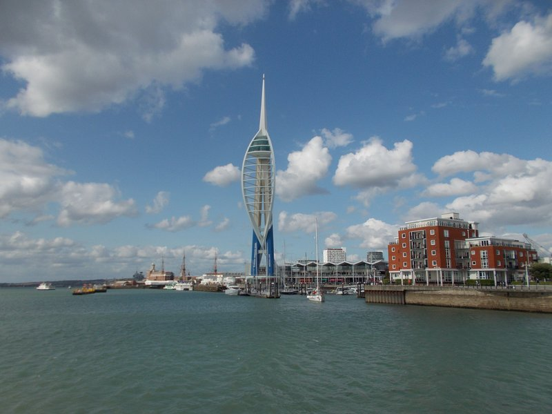 The Spinnaker Tower.