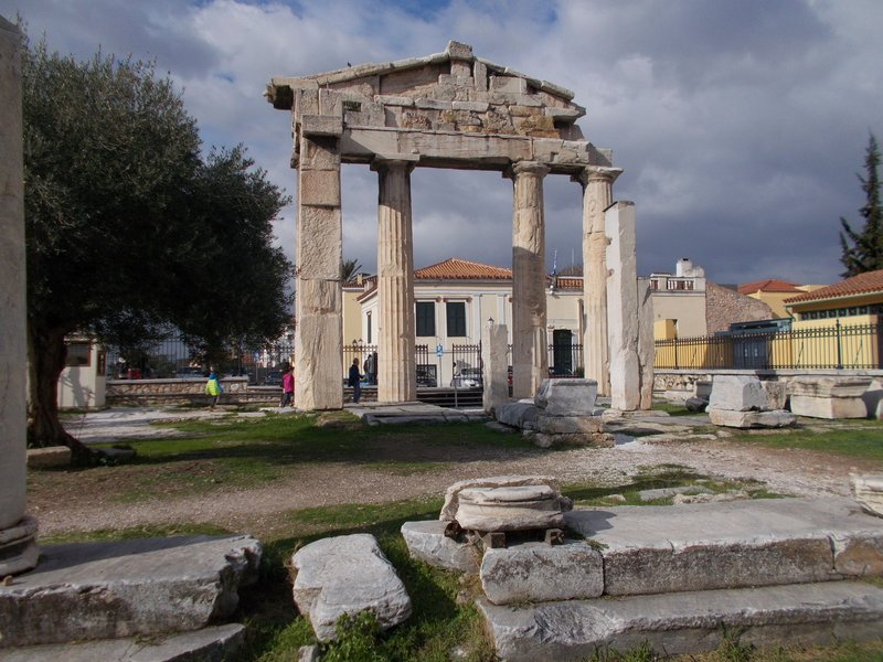 The Gate of Athena Archegetis.