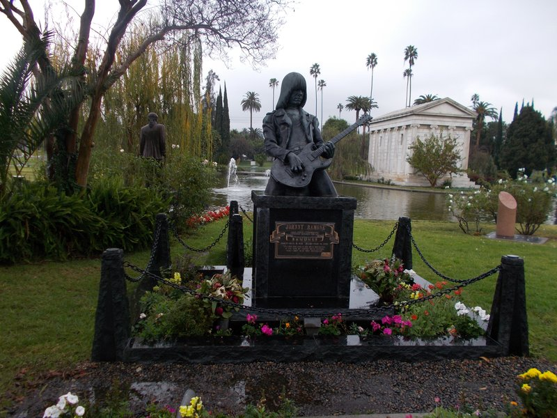 The grave of Johnny Ramone.