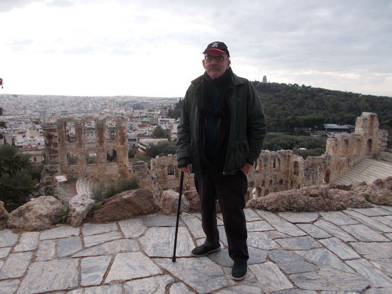 The Odeon of Herodes Atticus.