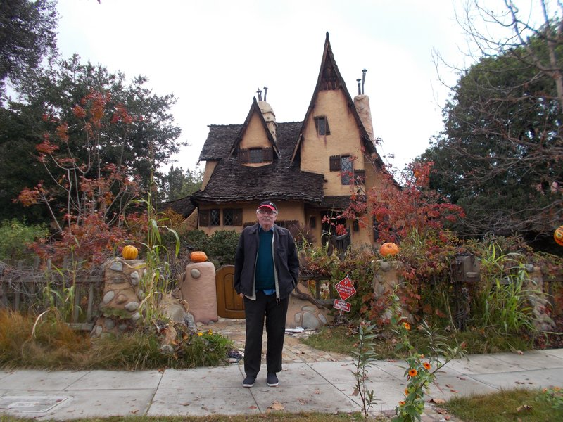 The witch's house.