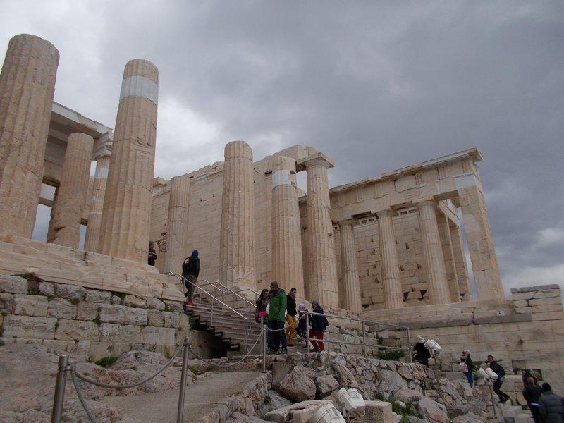Propylaea.