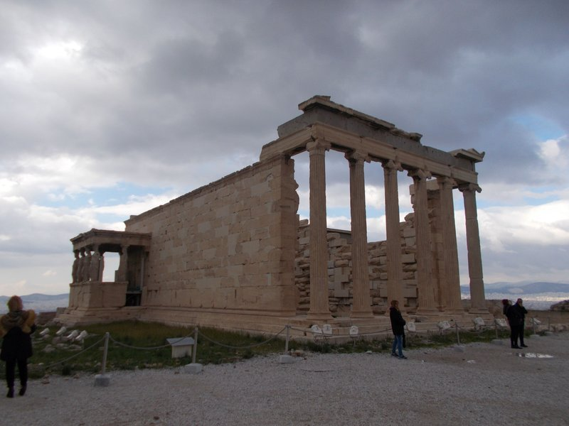 The Erechtheion.