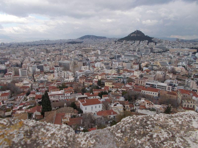 View from Acropolis.