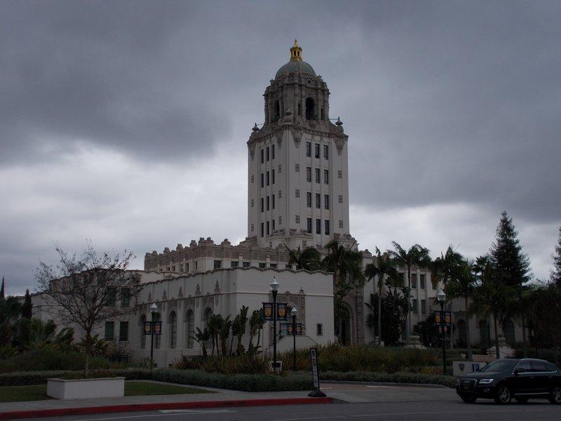 Beverly Hills City Hall.