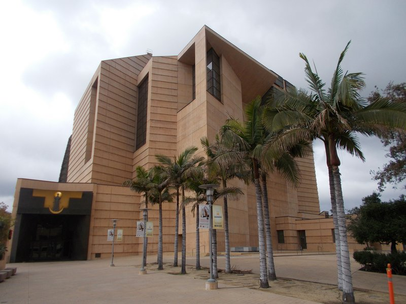 Los Angeles Cathedral.