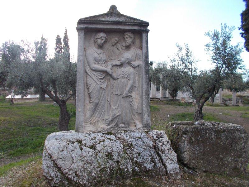 Outer Kerameikos, cemetery.