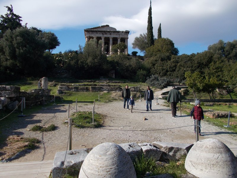 The Temple of Hephaestus.